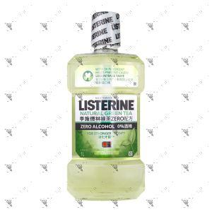 Listerine Antiseptic Mouthwash 1L Natural Green Tea