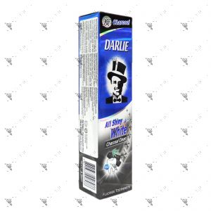 Darlie All Shiny White Toothpaste 140g Charcoal Clean