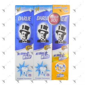 Darlie All Shiny White Toothpaste- Prolite (140gX2+80g)