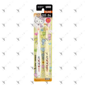 Ebisu Toothbrush 0.5-3Years Old 2s Hello Kitty
