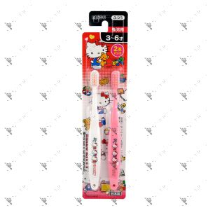 Ebisu Toothbrush 3-6Years Old 2s Hello Kitty
