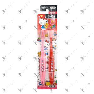 Ebisu Toothbrush 3-6Years Old 2s Hello Kitty