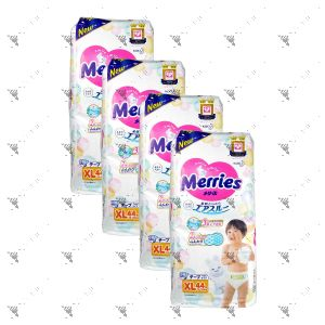 Merries Japan Tape Diapers X-Large 44S (4Packs)