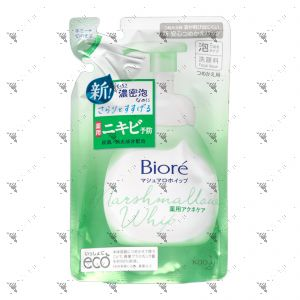 Biore Marshmallow Whip Acne Care Facial Wash Refill 130ml