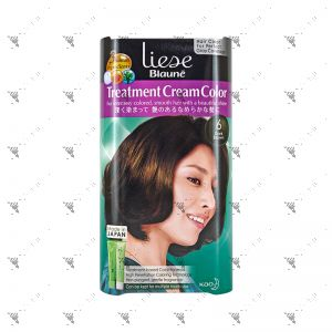 Liese Blaune Treatment Cream Color (No.6 Dark Brown)