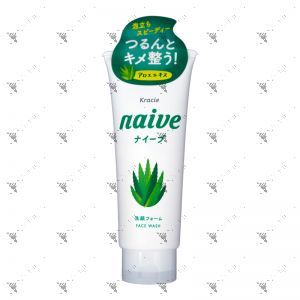 Kracie Naive Aloe Vera Facial Foam 130g