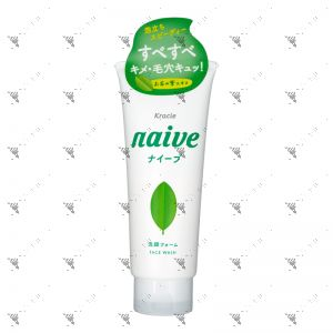 Kracie Naive Green Tea Facial Foam 130g