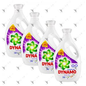 Dynamo Power Gel Detergent (Color Care) 2.7KGx4