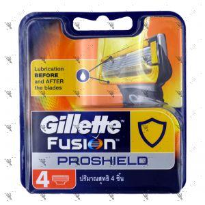 Gillette Fusion Proshield Cartridge 4s