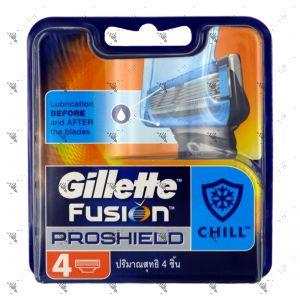 Gillette Fusion Proshield Chill Cartridges 4s