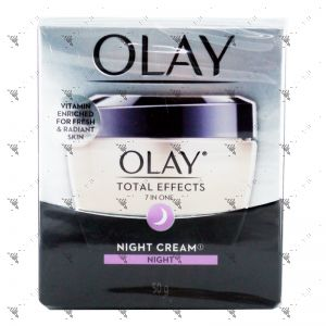 Olay Total Effects 7in1 Night Cream 50g