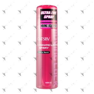 Gatsby Moving Lock Spray Extra Hard 170g