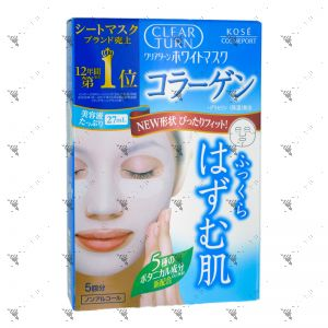 Kose Clear Turn White Collagen Mask 5S