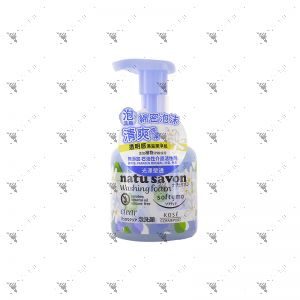 Softymo Natusavon Washing Foam Clear 180ml