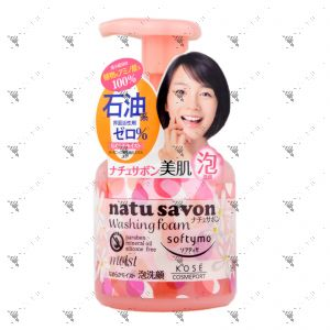 Softymo Natusavon Washing Foam Moist 180ml