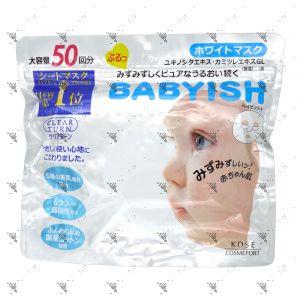 Kose Clear Turn Babyish Mask 50s Vitamin C Whitening
