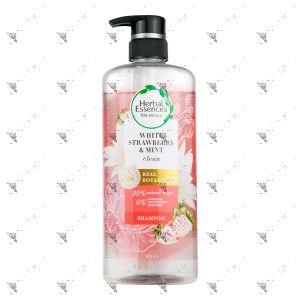 Clairol Herbal Essence Shampoo 600ml White Strawberry & Mint