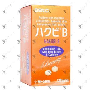 Sato Hakubi B (120tabs)