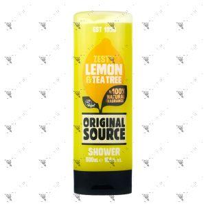 Original Source Shower Gel 500ml Zesty Lemon & Tea Tree