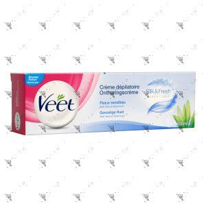 Veet Hair Removal Cream 100ml Sensitive Skin with Aloe Vera & Vitamin E