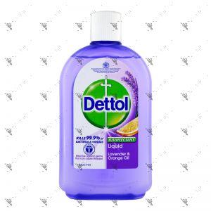 Dettol Disinfectant liquid 500ml Lavender & Orange Oil