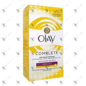 Olay Complete Day Fluid SPF15 100ml Normal/Oily Skin