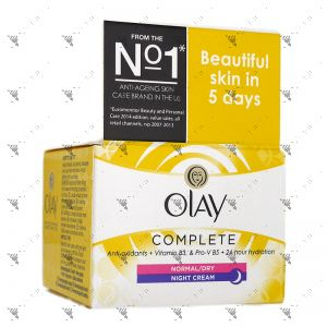 Olay Complete Care Night Cream 50ml Normal/Dry Skin