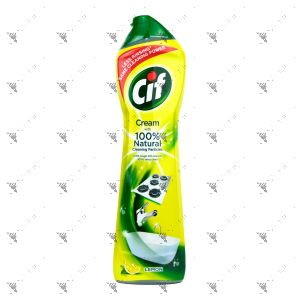 Cif Cream with Micro Crystals 500ml Lemon