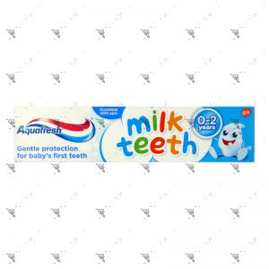 Aquafresh Milk Teeth Toothpaste 50ml (0-2Years)