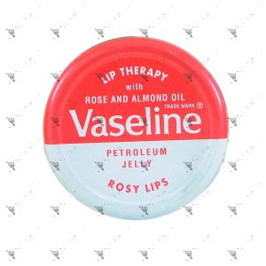 Vaseline Lip Therapy Petroleum Jelly Rosy Lips Pink 20g