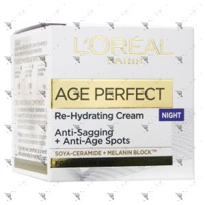 L'Oreal Age Perfect Re-Hydrating Cream 50ml Night
