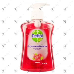 Dettol Hand Soap 250ml Revitalise Raspberry