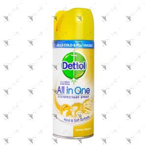 Dettol Disinfectant Spray All In 1 400ml Lemon Breeze