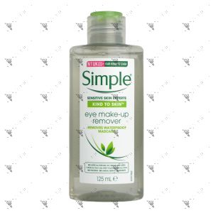 Simple Kind To Skin Eye Makeup Remover 125ml