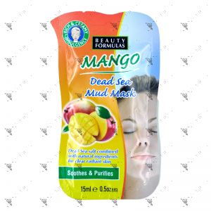 Beauty Formulas Mango Dead Sea Mud Mask 15ml