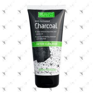 Beauty Formulas Charcoal Detox Cleanser 150ml
