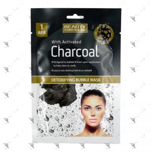 Beauty Formulas Charcoal Detoxifying Bubble Mask 1s