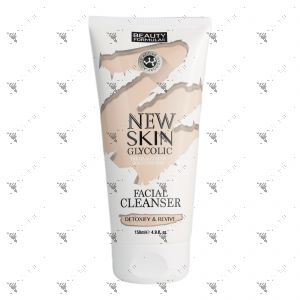 Beauty Formulas New Skin Glycolic Facial Cleanser 150ml