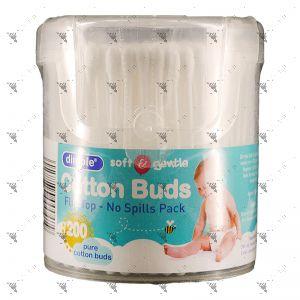 Dimple Cotton Buds Flip Top 200s