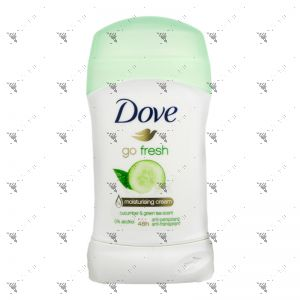 Dove Deodorant Stick 40ml Go Fresh Cucumber & Green Tea Scent