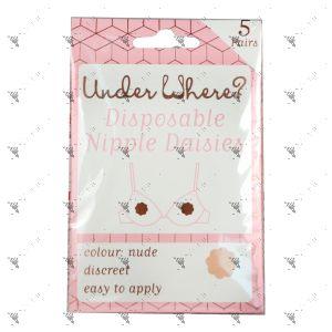 Pretty Nipple Daisies 5 pairs