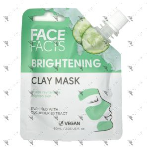 Face Facts Clay Mask Pouch 60ml Brightening