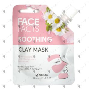 Face Facts Clay Mask Pouch 60ml Soothing