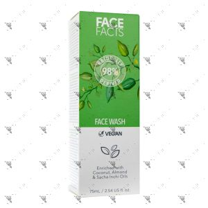 Face Facts 98% Natural Face Wash 75ml