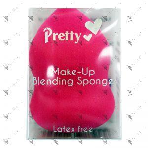 Pretty Make-Up Blending Sponge Pink/Purple