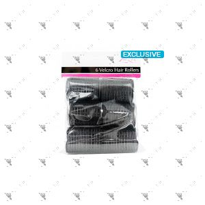 Zazie 6 Velcro Hair Rollers 1 Pack