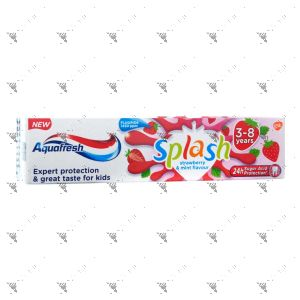Aquafresh Toothpaste Kids 50ml Splash 3-8 Years Old