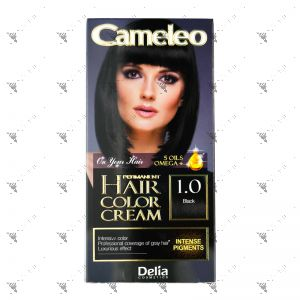 Cameleo Perm Hair Colour Cream 1.0 Black