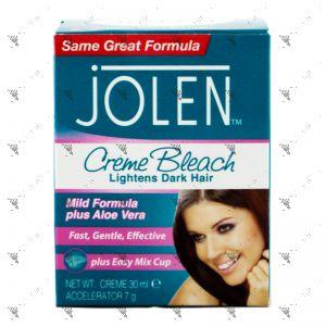 Jolen Creme Bleach Mild Formula 30ml