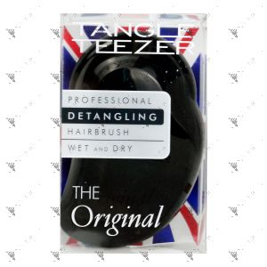 Tangle Teezer Detangling Hairbrush Black - Wet & Dry